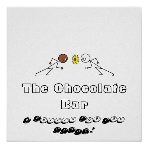 The Chocolate Bar Poster