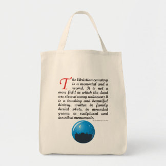 The Christian Cemetery Tote Bag