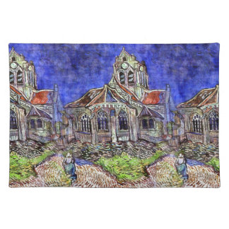 The Church at Auvers by Vincent van Gogh 1890 Placemat