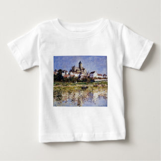 The Church At Vetheuil by Claude Monet Baby T-Shirt