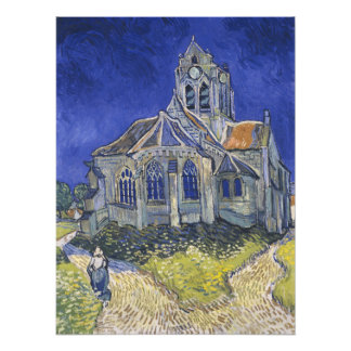 The Church in Auvers by Vincent van Gogh Photograph