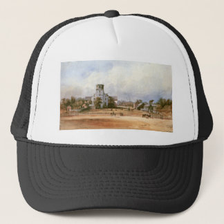 The church of New Harmony by Karl Bodmer Trucker Hat