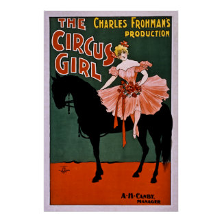 The Circus Girl Posters