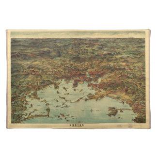 The City of Boston Massachusetts (1905) Placemat