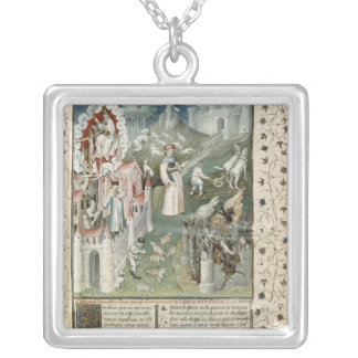 The City of God, City of Caen and City of Silver Plated Necklace