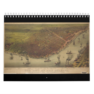 The City of New Orleans Louisiana from 1885 Calendars