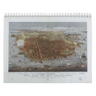 The City of San Francisco California from 1878 Calendars