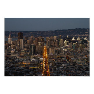 The City of San Francisco Poster