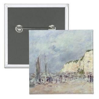 The Cliffs at Dieppe and the 'Petit Paris' 15 Cm Square Badge