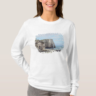 The Cliffs at Etretat after the storm, 1870 T-Shirt