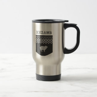 The Code Of Sheep - Icelamb Travel Mug