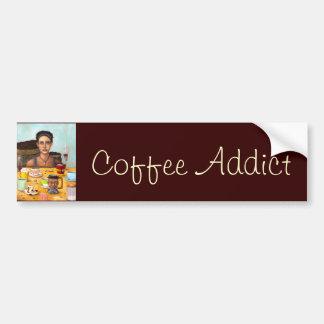 The Coffee Addict Bumper Sticker