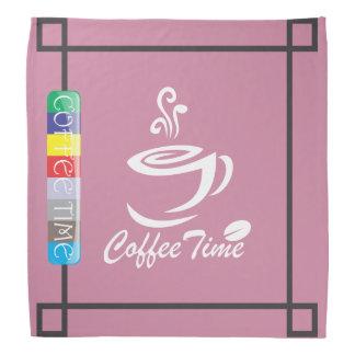 The Coffee Time Bandana