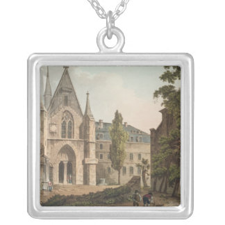 The College de Navarre in Paris Silver Plated Necklace