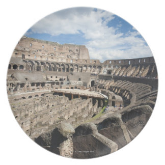 The Colosseum is situated in Rome, Italy. Its an Plate