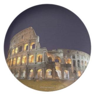 The Colosseum or Roman Coliseum, originally the Plate