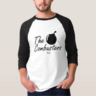 The Combusters Mango Basic Raglan 3/4, White/Daily T-Shirt