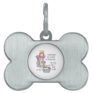 THE CONCEPT OF HOUSEWORK PET ID TAG