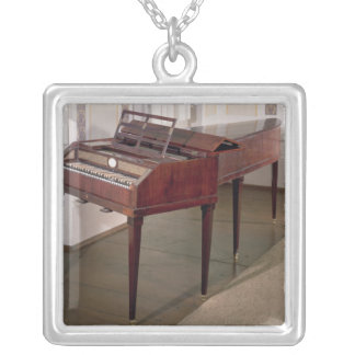 The concert piano of Franz Joseph Haydn Silver Plated Necklace