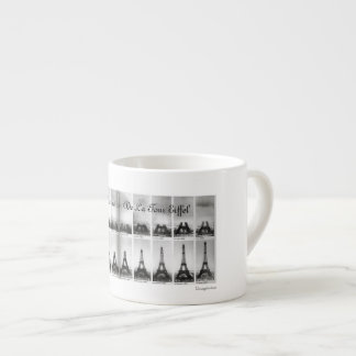 The Construction Of The Eiffel Tower Espresso Cup