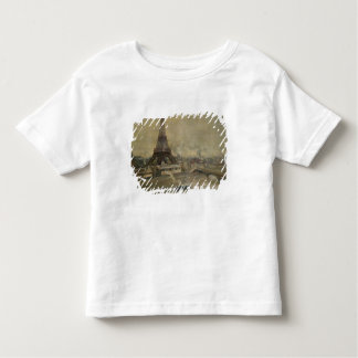 The Construction of the Eiffel Tower Toddler T-Shirt