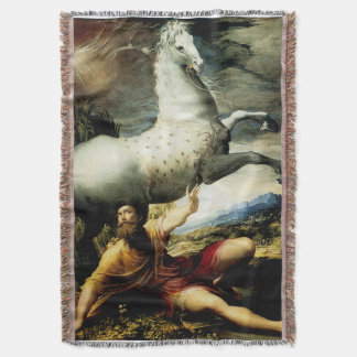 The Conversion of Paul Throw Blanket
