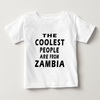 The Coolest People Are From Zambia Tees