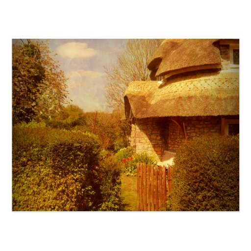 The Cottage Garden. Post Cards