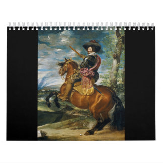 The Count Duke Of Olivares by Diego Velazquez 1634 Wall Calendars