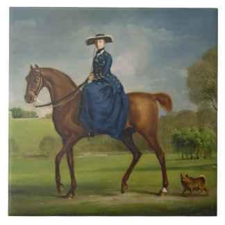 The Countess of Coningsby in the Costume of the Ch Tile
