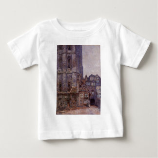 The Cour d'Albane, Grey Weather by Claude Monet Baby T-Shirt