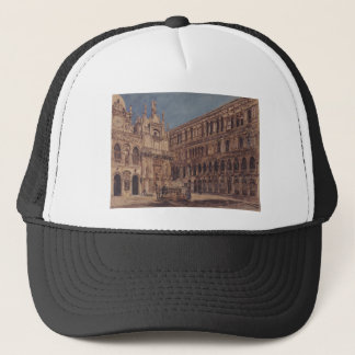 The courtyard of the Doge's Palace in Venice Trucker Hat