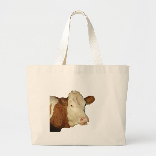 The Cow Tote Bags