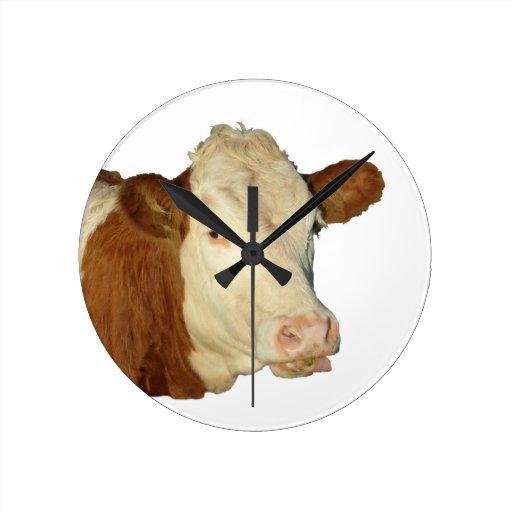 The Cow Round Wallclocks