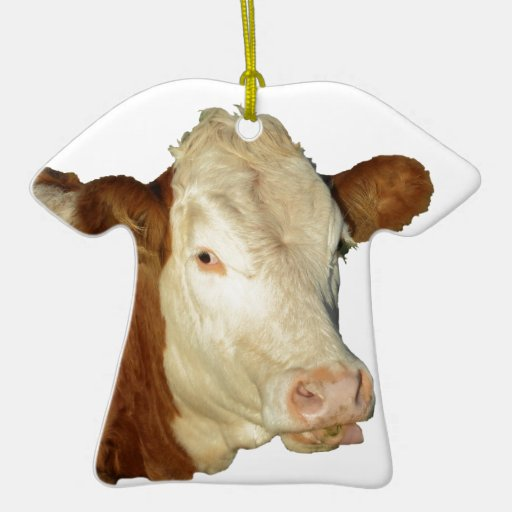 The Cow Christmas Tree Ornament