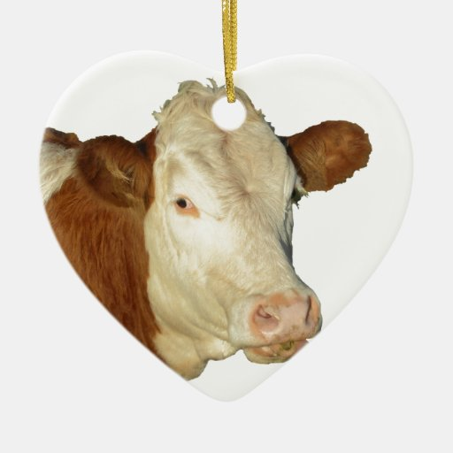 The Cow Ornaments