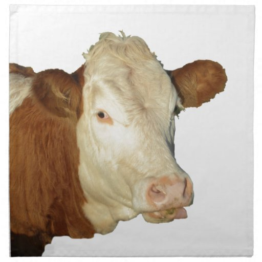 The Cow Cloth Napkin