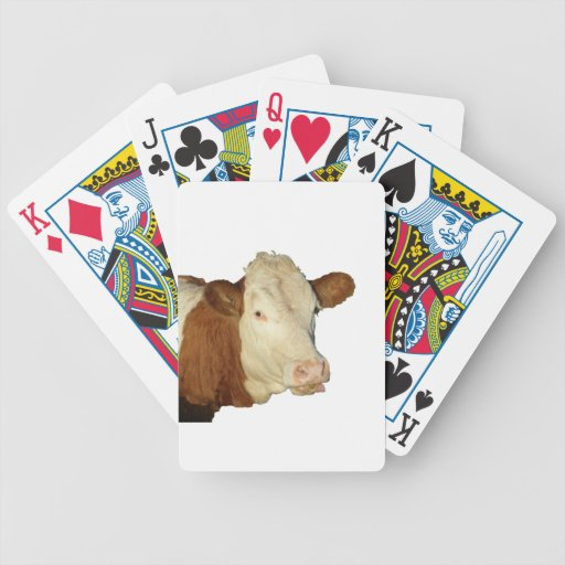 The Cow Deck Of Cards