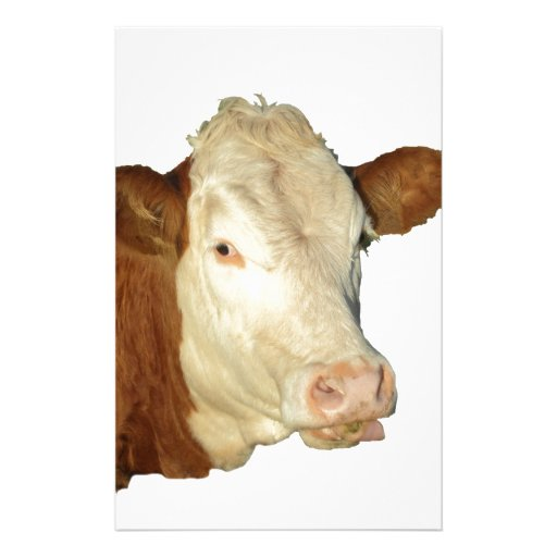 The Cow Personalized Stationery