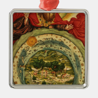 The Creation, from the Luther Bible, c.1530 Christmas Ornament