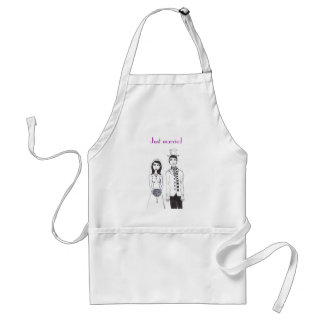 The Creepy Wedding, Just married Apron