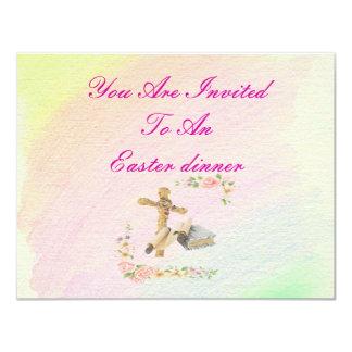 The Cross & Bible - 11 Cm X 14 Cm Invitation Card
