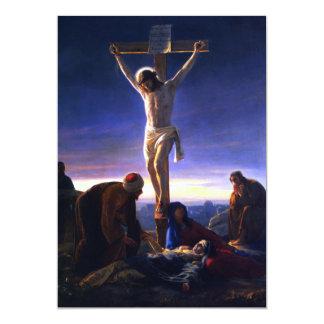 The Crucifixion.Fine Art Customizable Card Invites