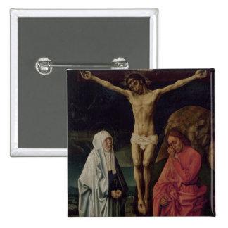 The Crucifixion (panel) 2 15 Cm Square Badge