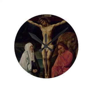 The Crucifixion (panel) 2 Clock