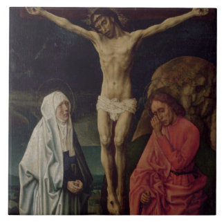 The Crucifixion (panel) 2 Large Square Tile