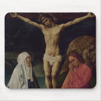 The Crucifixion (panel) 2 Mouse Pad