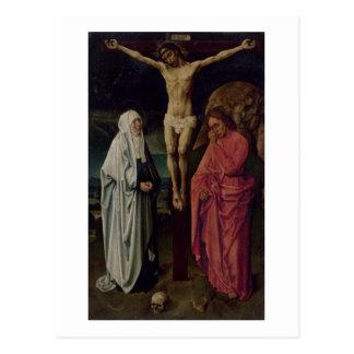 The Crucifixion (panel) 2 Postcard
