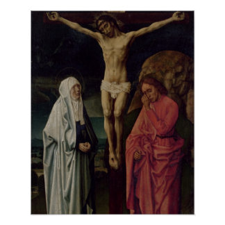 The Crucifixion (panel) 2 Poster