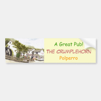 'The Crumplehorn' Bumper Sticker Car Bumper Sticker